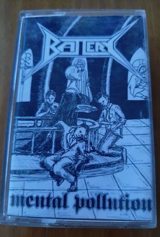BATTERY - Mental Pollution - Thrash Metal super piękna kaseta