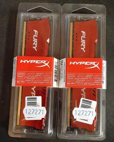 Память Kingston HyperX Fury Red 16Gb ( 2*8Gb) DDR3, 1600 MHz)