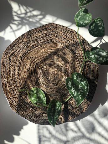 handmade ekologiczny eko naturalny kartonowy drapak dla kota kotki