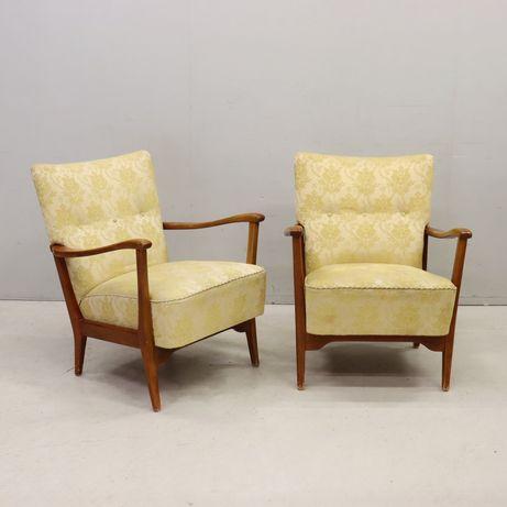Fotele DUX skandynawia lata 70-te PRL loft Vintage