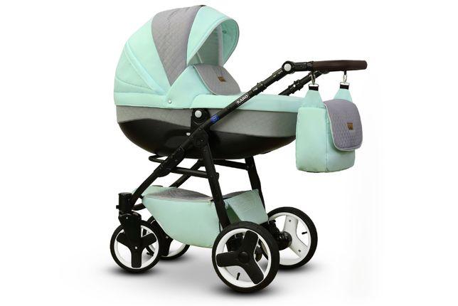 Promocja cenowa!Lekki wózek Vega Karo 3 w 1 modne pastelowe kol