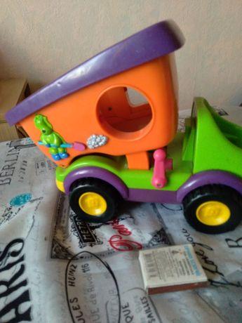 Музыкальный грузовик  игрушка 28×17см