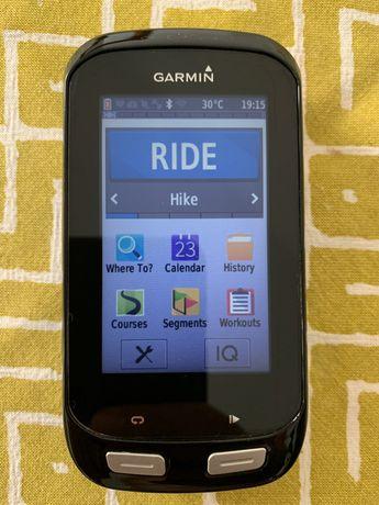 Garmin Edge 1000 irrepreensível com sensores Cadência, velocidade, HR