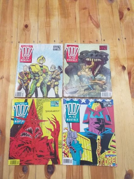 The Best of 2000AD Monthly 4 numery,90