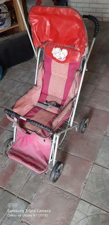 Продам детскую складную коляску