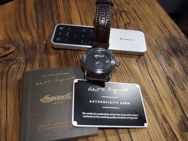 Zegarek męski Ingersoll 100801, duży i piękny, stan bardzo dobry