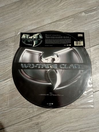 Wu-Tang Clan ‎– Gravel Pit / Protect Ya Neck -Picture Disc Vinyl Winyl