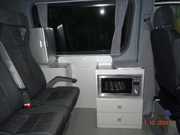 Zabudowa Kamper Camper Mercedes Sprinter Crafter Iveco