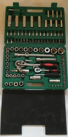 Klucze Nasadowe TORX 108 el. walizka