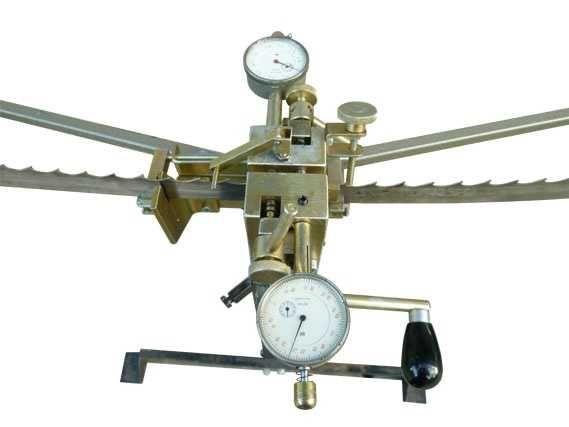 Верстат для розводки та контролю розводки стрічкових пил ПРЛ 60W