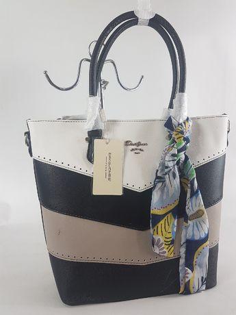 david jones kuferek torebka damska mieści duża nowa