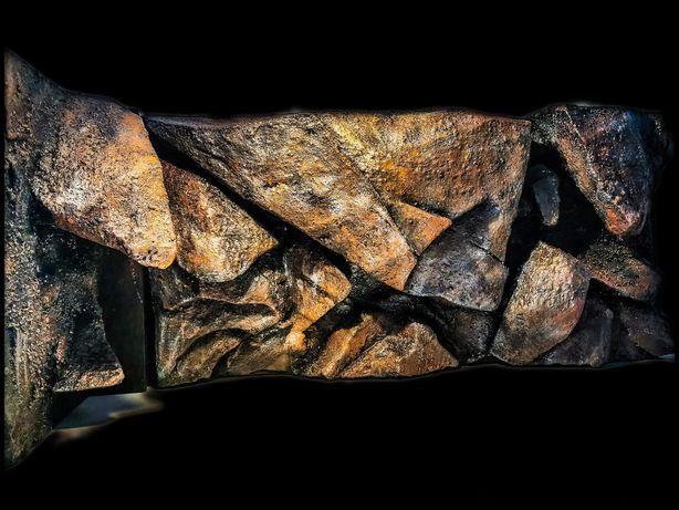Tło strukturalne 3d do akwarium, moduły, imitacje skały, zabudowę filt