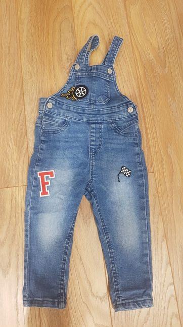 Ogrodniczki jeans reserved 86