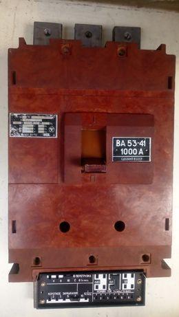 Автоматический выключатель 3х фазный ВА 53-41на1000А
