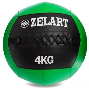 Мяч набивной для кросфита волбол WALL BALL 4 кг