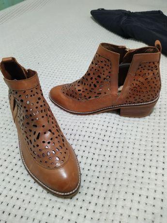 Туфли ботинки челси кожа delux H&M размер 39 по стельке 25 см новые