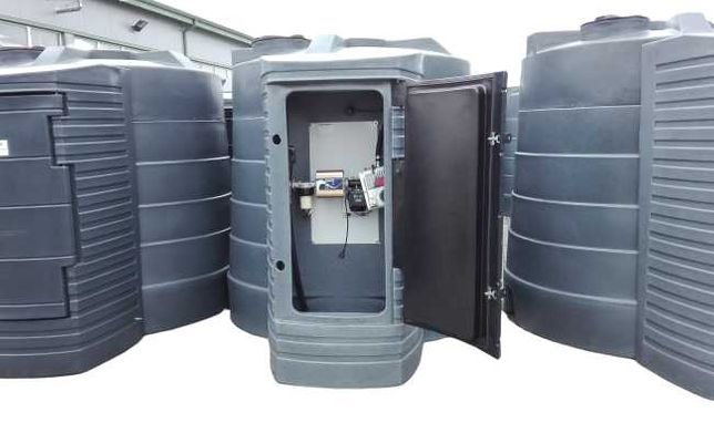 Zbiornik na paliwo dwupłaszczowy 5000L olej napędowy paliwa
