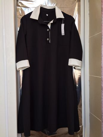 Платье с рукавом BALANI новое