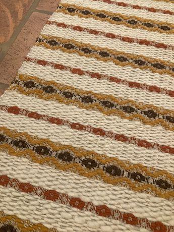 Chodnik dywan naturalny welniany 80/200