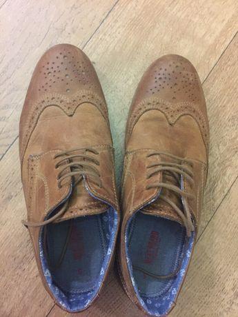 Туфли , лоферы , Оксфорды 38 р. кожа