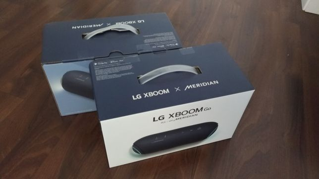 Colunas portáteis LG PL5 XBOOM, novas, selada a estrear.