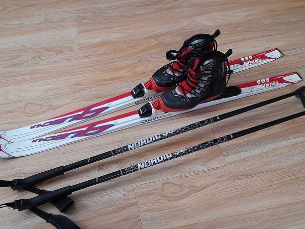 Zestaw do narciarstwa biegowego dla dziecka