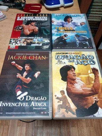 10 dvds originais jackie chan , piratas dos mares da china etc