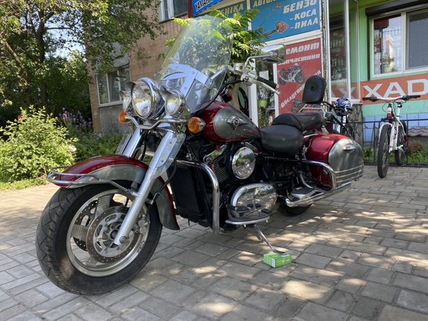 Kawasaki vulcan 1500 (не harley davidson)