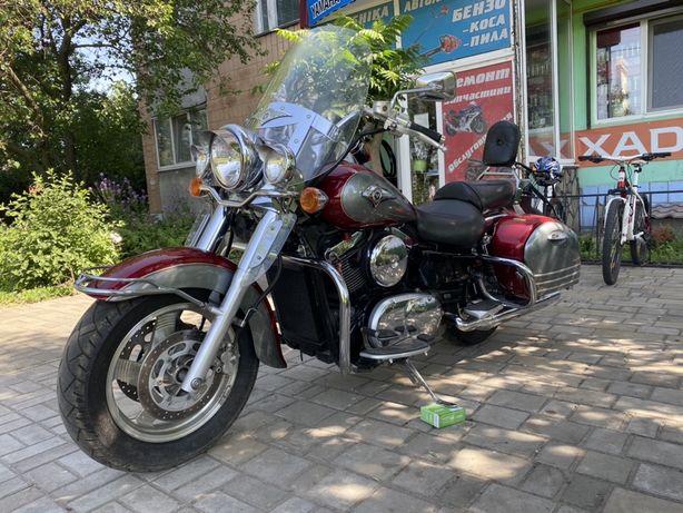 Kawasaki vulcan Nomad 1500 (не harley davidson)