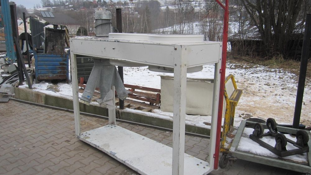 Odciąg pyłu trocin dwu workowy stolarskie Naprawa - image 1