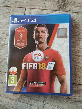 Gra FIFA 18 PS4 polska wersja edycja World Cup