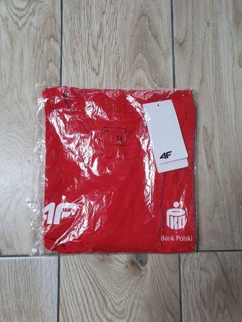 Koszulka PKO Silesia Marathon 4F Czerwona Wolontariusz