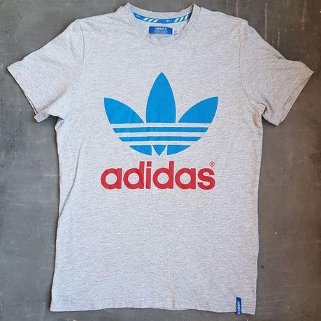 Мужская серая футболка Adidas