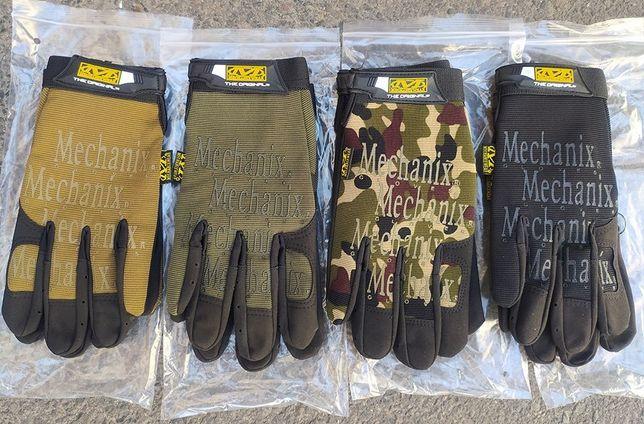 Перчатки тактические Mechanix Original с пальцами.
