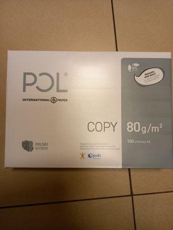 Papier PolCopy 80 g/m kw, A4 500 arkuszy