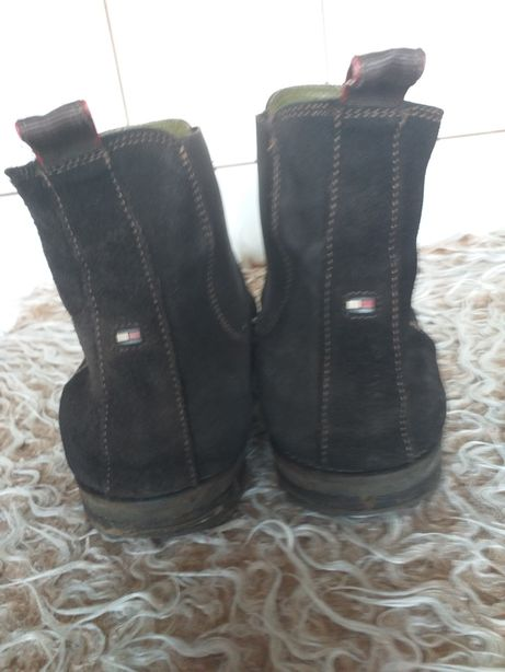 Tommy Hilfiger buty trzewiki kowbojki sztyblety