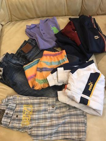 Nike, Puma, Polo одяг на хлопчика 6-8 років