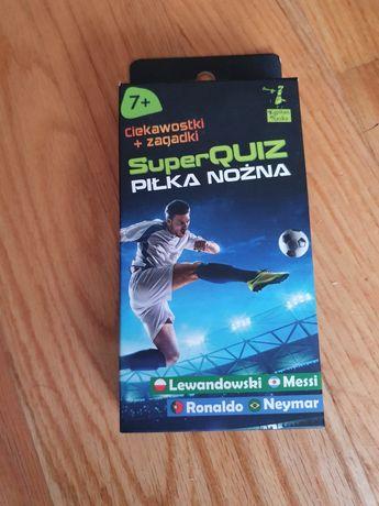 Super Quiz Piłka nożna; firmy Pan Kapitan