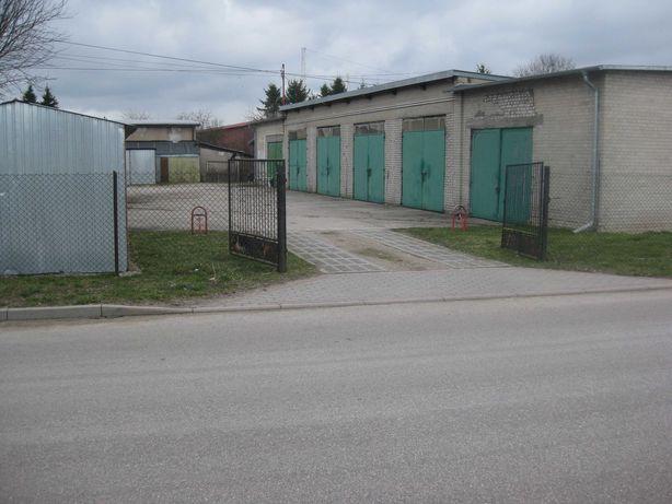 Garaż. Działka Zabudowana Garażami 200m2 [Lokata kapitału]