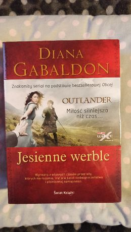 Jesienne werble - Diana Gabaldon (Outlander 4 część) zafoliowana
