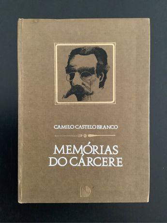 """Livro """"Memórias do Cárcere"""" - Camilo Castelo Branco"""