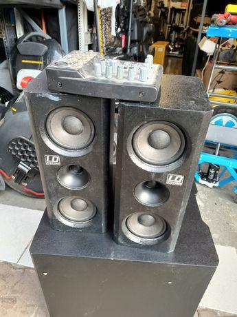 LD systems Dave 8 xs zestaw nagłośnienia estradowego kolumny głośniki