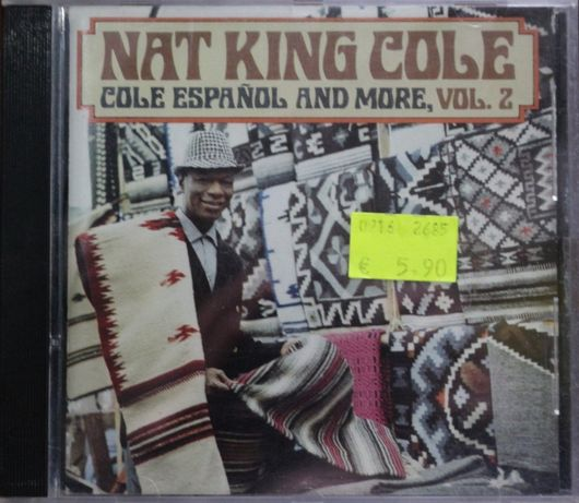 """Cd Musical """"Nat King Cole - Cole Español and More, Vol. 2"""""""