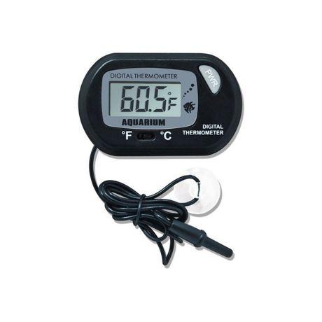 Termometr LCD do akwarium terrarium z przyssawką oraz sondą 15 zł szt