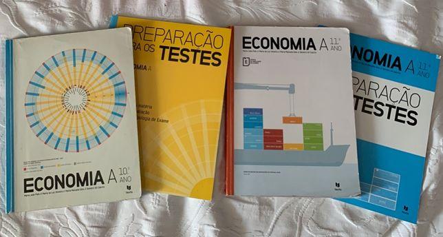 Livros de Economia A 11 Texto (manual + caderno de atividades)