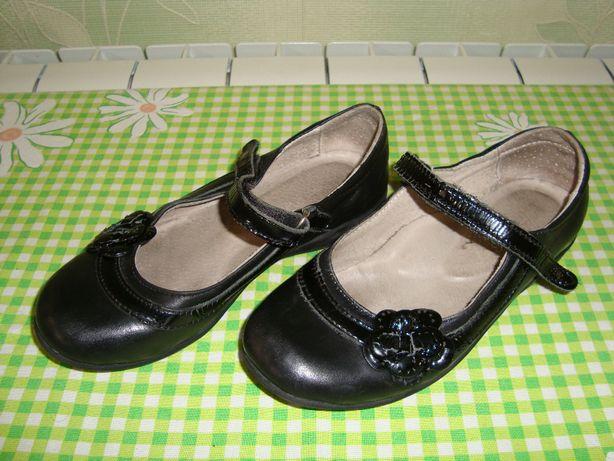 Туфли для девочки LAPSI ортопедические. Туфельки натуральная кожа р 30