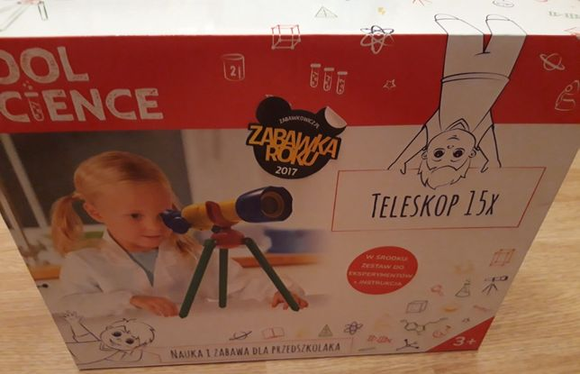 Nowy edukacyjny teleskop TM-toys