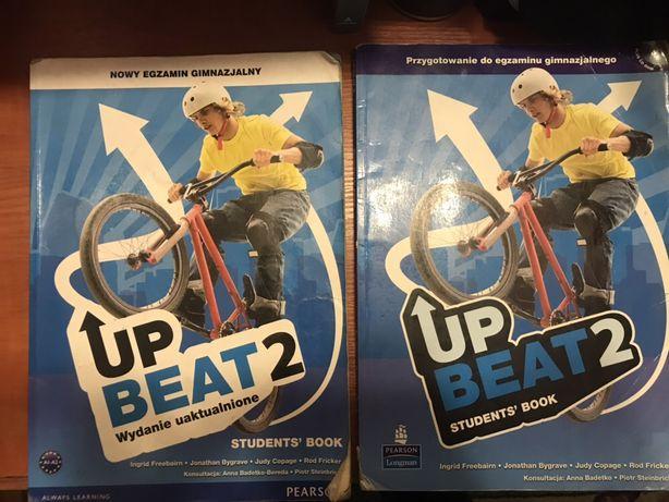 książki od j.angielskiego Up Beat