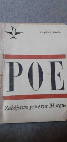 Poe E.A.- Zabójstwo przy rue Morgue