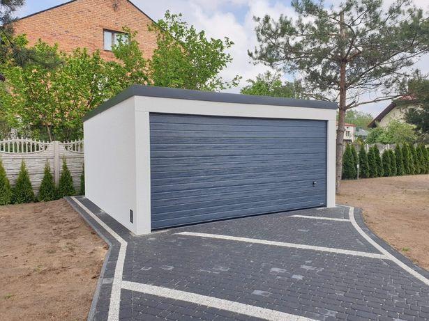 Garaze tynkowane, wiaty, carport, garaz tynkowany
